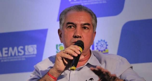 Governador de Mato Grosso do Sul, Reinaldo Azambuja (PSDB). Foto: G1