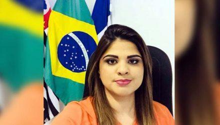 Thauana Duarte, prefeita de Nova Independência. Foto: MIL NOTICIAS