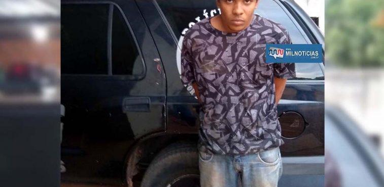 H. S. S., de 21 anos, era o motorista da Parati que atropelou de matou o policial rodoviário cabo PM Demétrio. Foto: Rádio Caçula