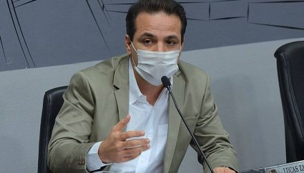 Lucas Zanatta (PV) é autor de requerimento de informações (Foto: Angelo Cardoso/Assessoria de Comunicação da Câmara de Araçatuba)