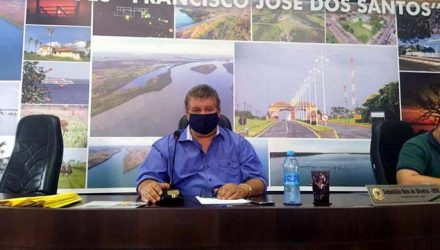 """Vereador e presidente da Câmara de Castilho, Sebastião Reis Oliveira, o """"Tião Japonês"""". Foto: MANOEL MESSIAS/Agência"""