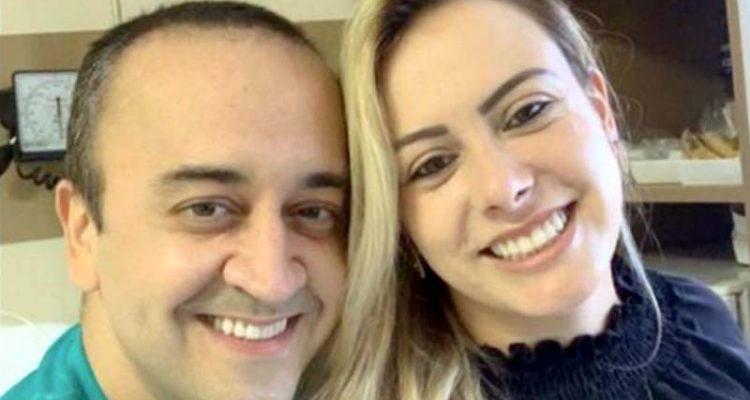Dentista Fabrício David Jorge, de 41 anos, esfaqueou a namorada Pollyanna Pereira de Moura, de 35, e depois cometeu suicídio. Foto: Divulgação