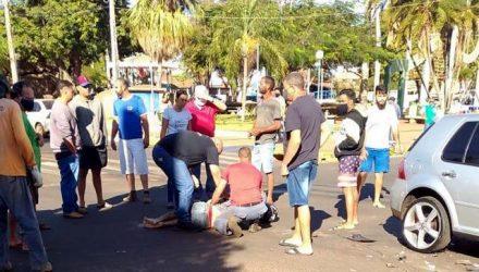 Rapaz ainda foi socorrido ao hospital José Fortuna, mas já chegou morto ao local. Foto: DIVULGAÇÃO