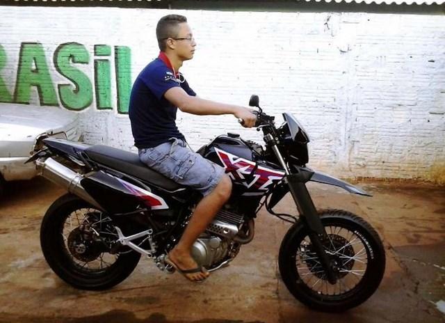 Vítima era apaixonada por motocicletas e, segundo testemunhas, gostava da alta velocidade. Foto: DIVULGAÇÃO
