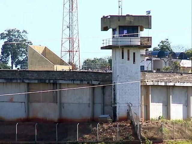 Penitenciária 2 de Presidente Venceslau — Foto: Reprodução/TV Fronteira