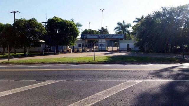 Penitenciária de Martinópolis — Foto: Heloise Hamada/TV Fronteira