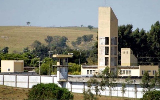 """Fachada externa da Penitenciária """"Nestor Canoa"""" de Mirandópolis. Foto: SBT Interior"""