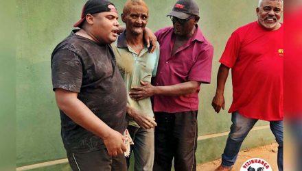 Polícia Militar auxilia na localização de homem desaparecido há 7 dias. Força tarefa reuniu ainda escoteiros, Via Rondon, familiares, vizinhança Solidária e voluntários. Fotos: DIVULGAÇÃO/PM