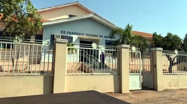 Escola Estadual Francisco Teodoro de Andrade. Foto: G1