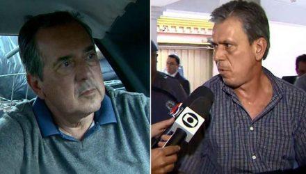 Carlos Augusto de Freitas e Sérgio Augusto de Freitas foram presos em Igarapava, SP, — Foto: José Augusto Júnior/EPTV