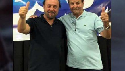 Mario Celso (esq.), e Paulo Assis. Foto: DIVULGAÇÃO