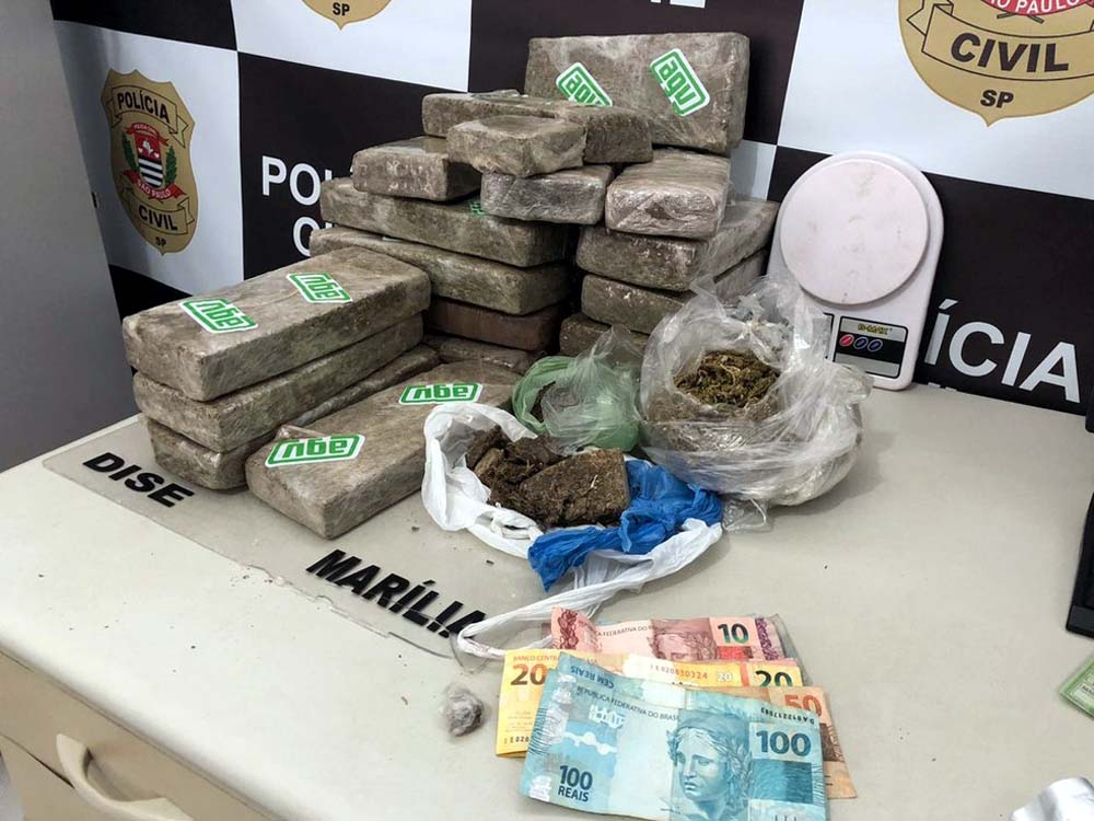 Polícia Civil prende oito em operação de combate à criminalidade no centro-oeste paulista — Foto: Polícia Civil/Divulgação