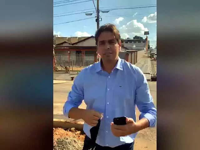 O ex-vereador e pré-candidato a vereador Cássio Remis foi assassinado na tarde de quinta-feira (24), em frente a Secretaria de Obras da cidade. Foto: Reprodução