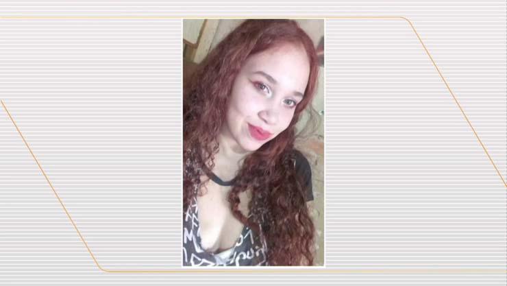 Nathalia Saldanha comemorava seu aniversário de 18 anos quando foi atacada com uma faca após ter sua festa invadida pelo ex-companheiro — Foto: Reprodução/TV Globo.