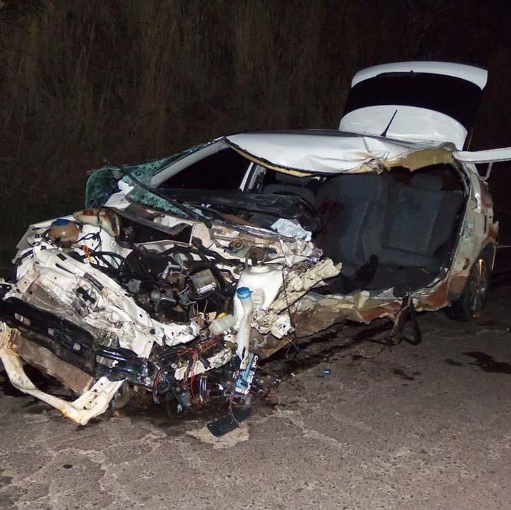 Jovem de 22 anos morreu vítima de acidente em Parapuã — Foto: Cristiano Nascimento/FM Metrópole.