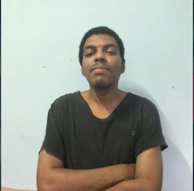 Eliézer de Queiroz Moreira, de 33 anos, já havia sido preso em agosto — Foto: Reprodução.