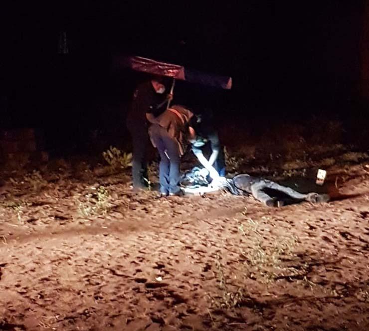 Suspeito de invadir fazenda foi morto a tiros pelo proprietário em Itiquira (MT) — Foto: Divulgação.