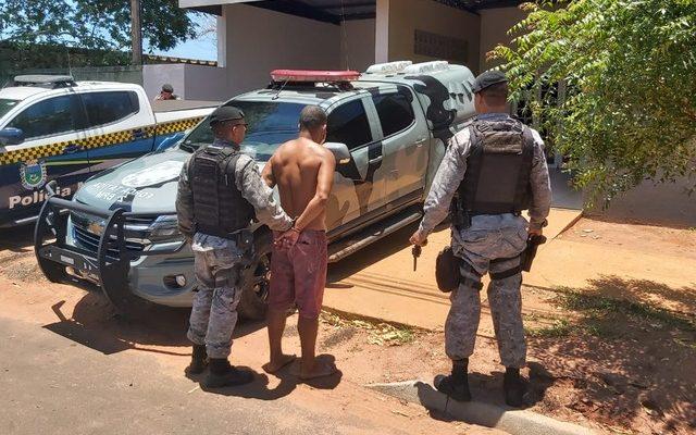 O autor dos disparos contra a ex-companheira na manhã deste sábado (21) em Três Lagoas (MS). Foto: Radio Caçula