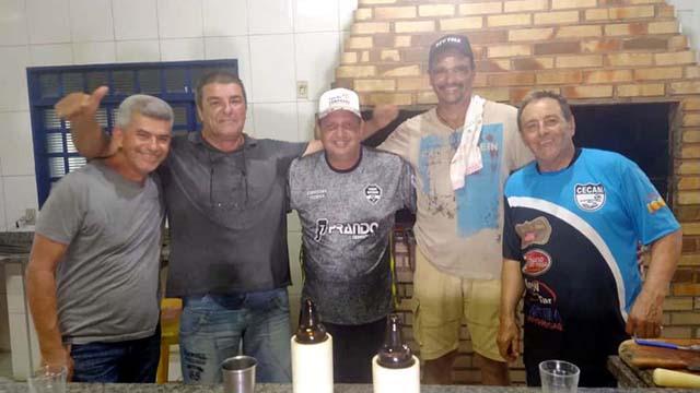 Equipe do churrasco foi fundamental na festa de entrega dos troféus. Foto: MANOEL MESSIAS/Agência
