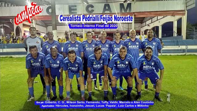 Feijão Noroeste foi o grande campeão do Torneio Interno de Final de Ano do Cecam. Foto: MANOEL MESSIAS/Agência