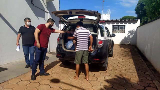J. S. S., de 32 anos, da rua São José, no Jardim Brasil, usou seu veículo (fazer um cavalo na gíria), para ir buscar a droga em Três Lagoas/MS. Foto: MANOEL MESSIAS/Agência