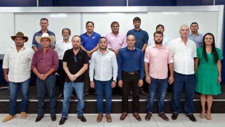 Mário Celso convoca prefeitos da Amensp a participarem da nova onda de desenvolvimento regional. Foto: Secom/Prefeitura