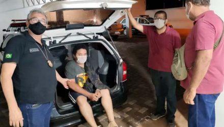 Policiais civis de Aracanguá prenderam Danilo em sua casa no dia seguinte do crime. Foto: RP10