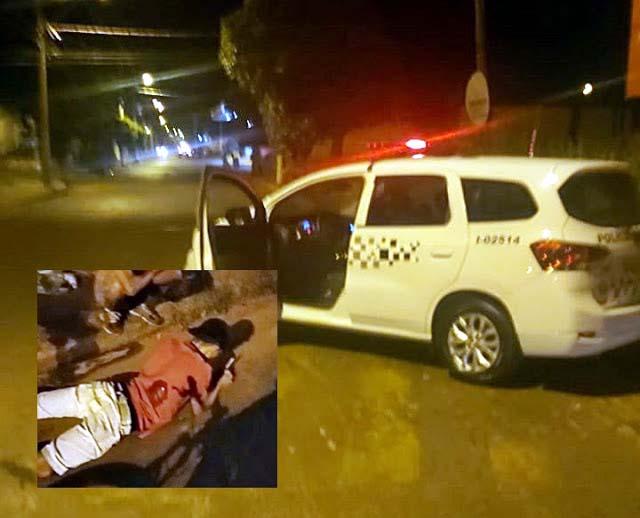 Na madrugada deste domingo (10), dois homens foram alvejados por disparo de arma de fogo. Um morreu e outro transferido para Araçatuba. Foto: Guararapessorrisonews.com.br