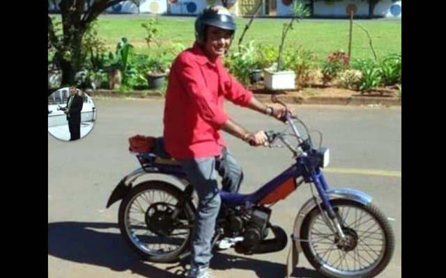 O desempregado Dionisio Martins, de 63 anos, é irmão do vereador reeleito por Andradina, Hernani da Bahia. Foto: DIVULGAÇÃO