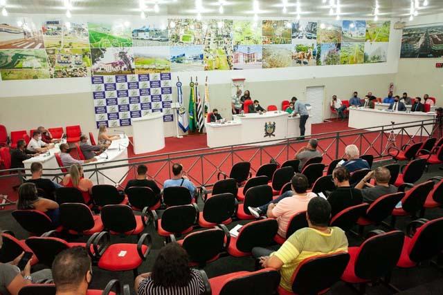 Sessão extraordinária foi realizada na última sexta-feira (08). Foto: Secom/Prefeitura