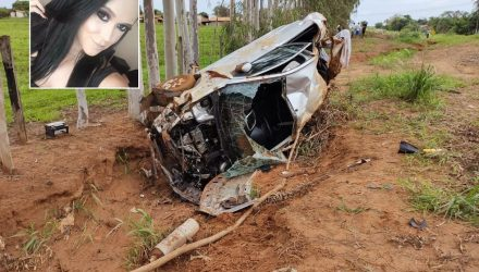 Jovem de 26 anos morreu em acidente em Votuporanga (SP) — Foto: Votuporanga Tudo/Divulgação