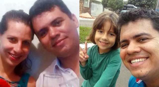Fabrício matou esposa e enteada de nove anos em Pompeia (SP) REPRODUÇÃO/RECORD TV