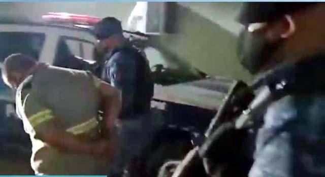Fabrício foi preso em Campo Grande (MS) REPRODUÇÃO/RECORD TV