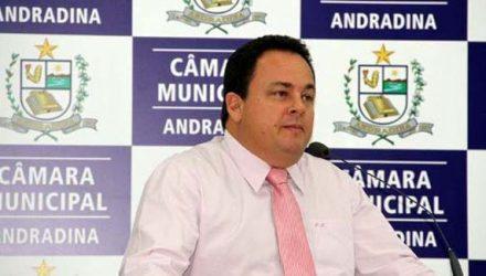 Mariano quando vereador por duas vezes em Andradina. Foto: Redes Sociais