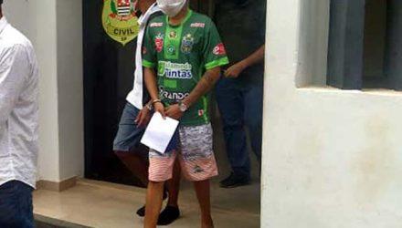 Matheuzinho foi indiciado por tráfico de drogas, permanecendo à disposição da Justiça. Foto: MANOEL MESSIAS//agência
