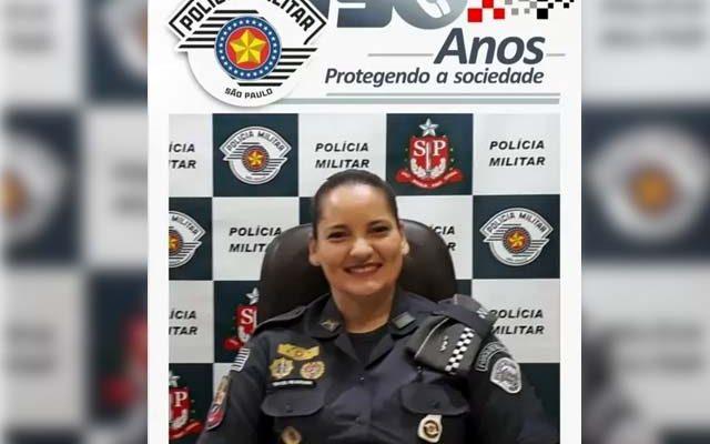 Tenetente-coronel Adriana Roledo Beluzzo é a primeira mulher a comandar o 2º BPMI, com sede em Araçatuba. Foto: PM/Divulgação