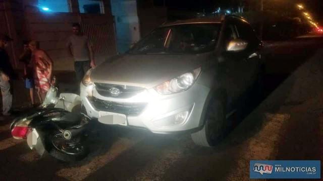 Biz e importado sofreram algumas avarias. Foto: MANOEL MESSIAS/Agência