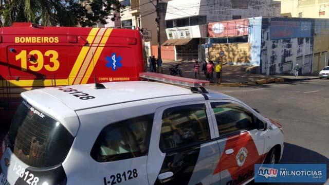 Tentativa de suicídio aconteceu a poucos metros da antiga loja do comerciante (ao fundo). Foto: MANOEL MESSIAS/Agência