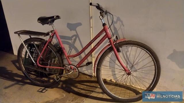 Acusado utilizava uma bicicleta para se deslocar distante do centro da cidade e não ser flagrado. furtando. Foto: MANOEL MESSIAS/Agência