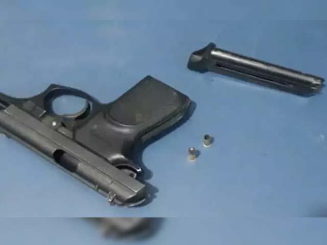 Arma usada pelo menor para matar o pai é uma pistola calibre .22mm. Foto: Divulgação