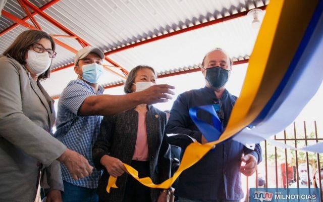 Inauguração do CVV de Andradina aconteceu na terça-feira (03). Foto: Assessoria Legislativa