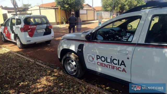 Perícia técnica/científica compareceu ao local e recolheu provas do caso. Foto: MANOEL MESSIAS/Agência