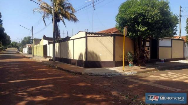 Casa alvo dos tiros esta localizada na antiga rua 21, com Av. 2, na cohab são João. Foto: MANOEL MESSIAS/Agência
