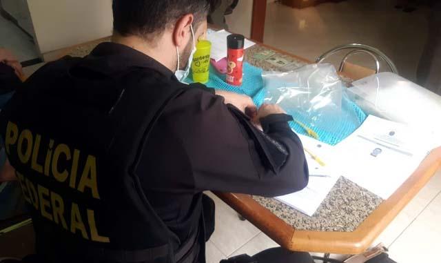 Polícia Federal cumpriu mandados de prisão e de busca e apreensão relacionados ao ataque a bancos em Araçatuba (SP) — Foto: Polícia Federal/Divulgação