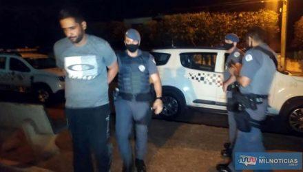 Rafael Luiz de Bessa, de 32 anos, era foragido do sistema prisional da cidade de Lucélia. Foto: MANOEL MESSIAS/Agência