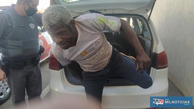 Em 19 de agosto último, Roni também foi preso acusado de furtar barras de ferro. Justiça concedeu a ele o beneficio da liberdade. Foto: MANOEL MESSIAS/Agência