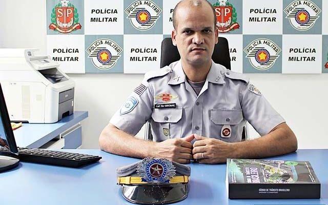 Capitão PM Gercimar Dias dos Santos vai comandar a 4ª Cia do 2ª BPMRv. Foto: Divulgação
