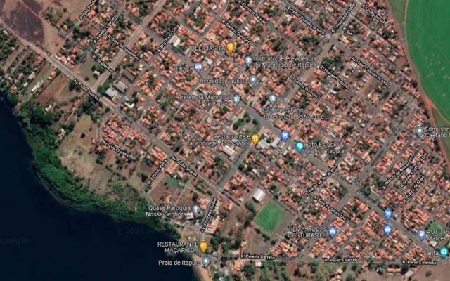 Caso aconteceu na cidade de Itapura. Foto: Googlemaps/Reprodução