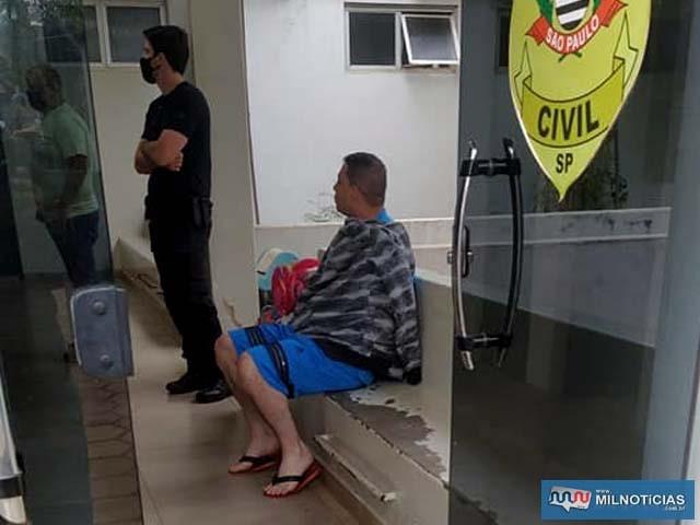 """Comerciante C. H. A. S. o """"Ramister"""", de 30 anos, foi presopor força de Mandado de Prisão (MP). Foto: MANOEL MESSIAS/Agência"""