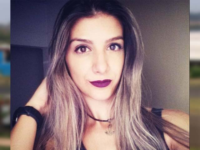 Andressa Serantoni foi morta a facadas em bairro de Rio Preto — Foto: Reprodução/Facebook